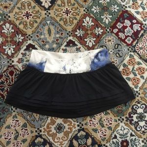lululemon skort with built-in shorts